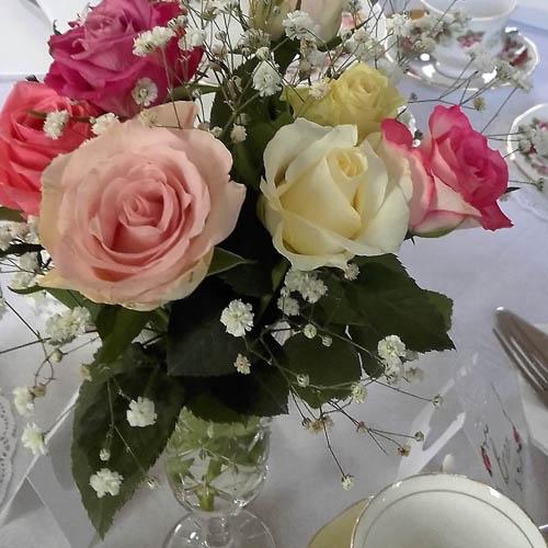 joyously vintage flowers image